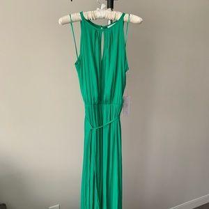 Jennifer Lopez Emerald Maxi Dress